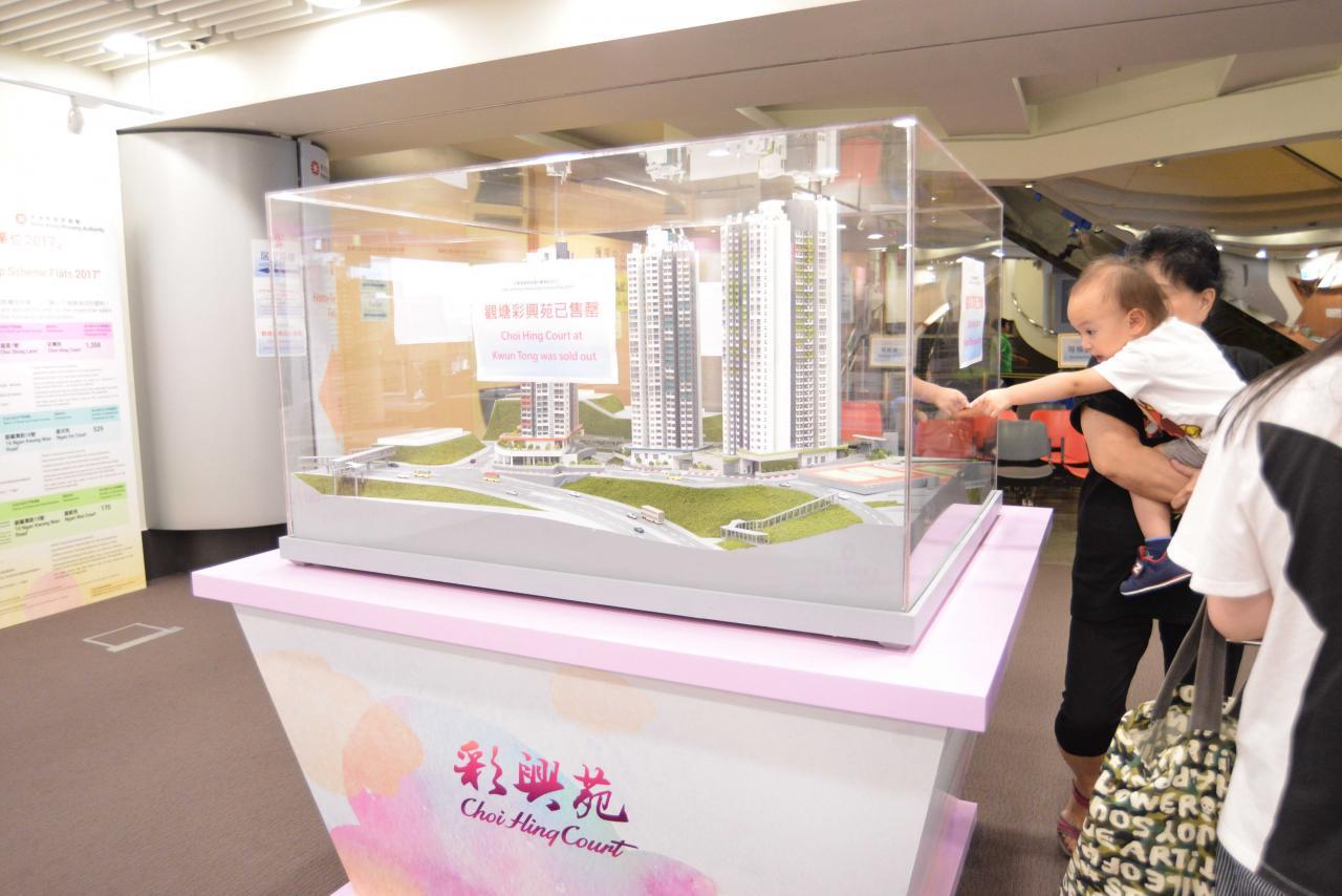 政府為求達到目標,不惜強搶市區靚地興建公營房屋,彩興苑便是其中之一。
