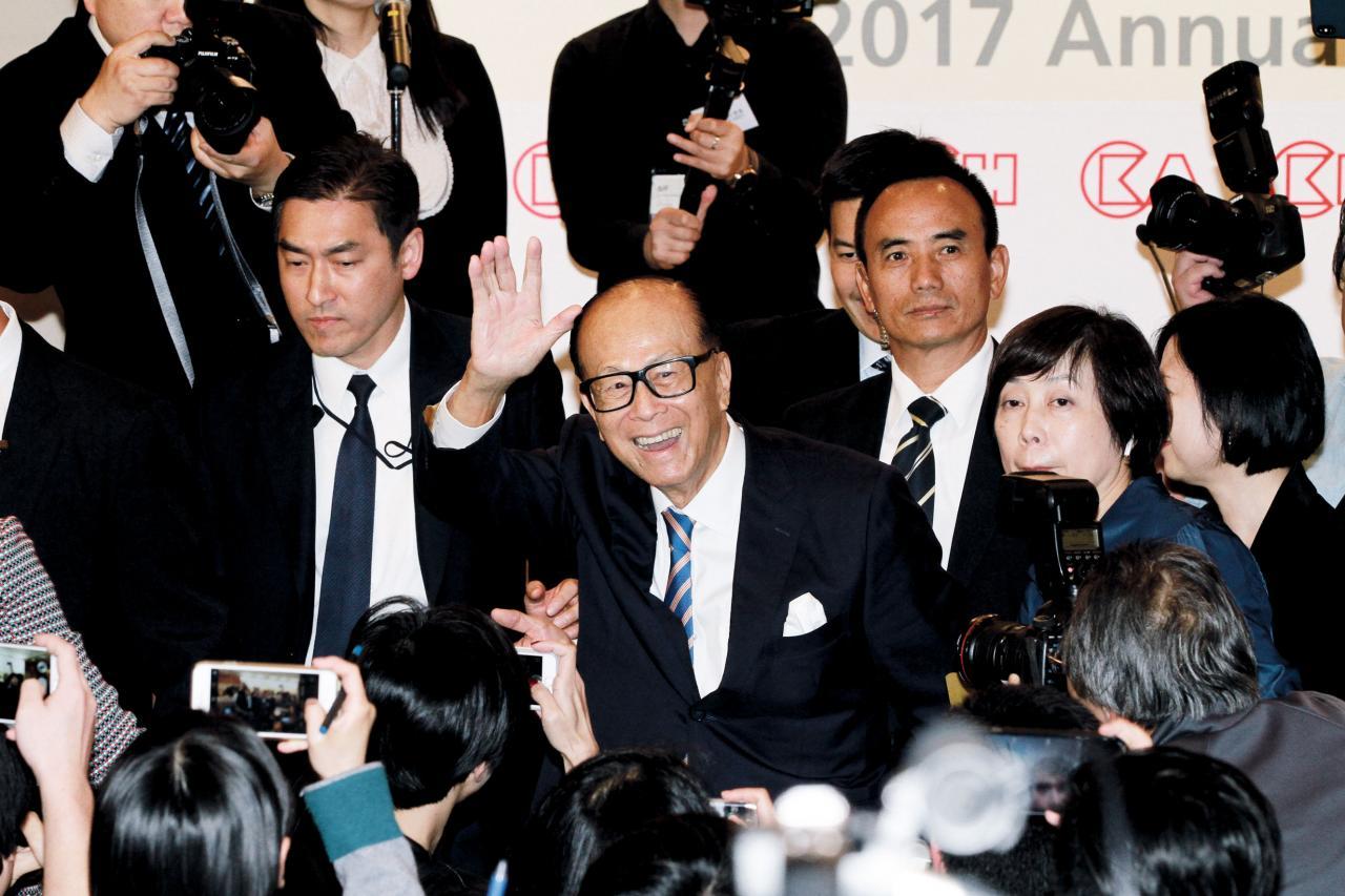 李嘉誠將透過基金會斥資三千萬美元認購小米股分。