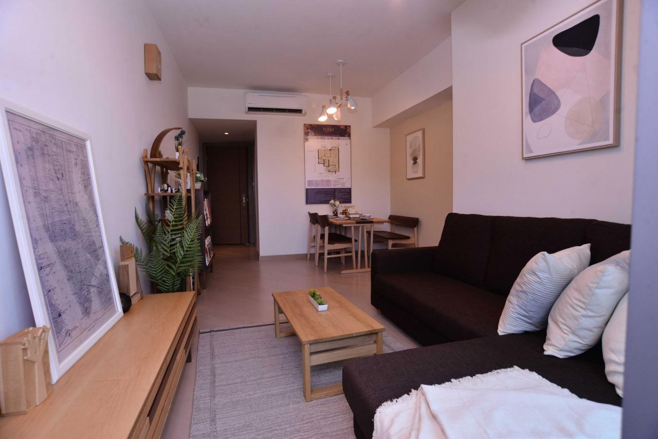 項目主打細單位,開放式至2房戶佔整體約70%。