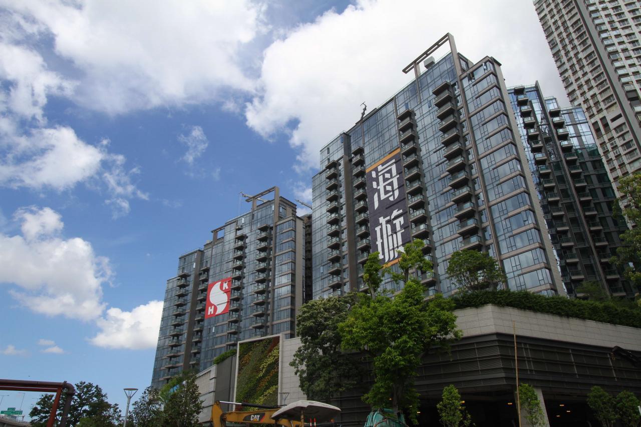 海璇第6座最快於年底招租。