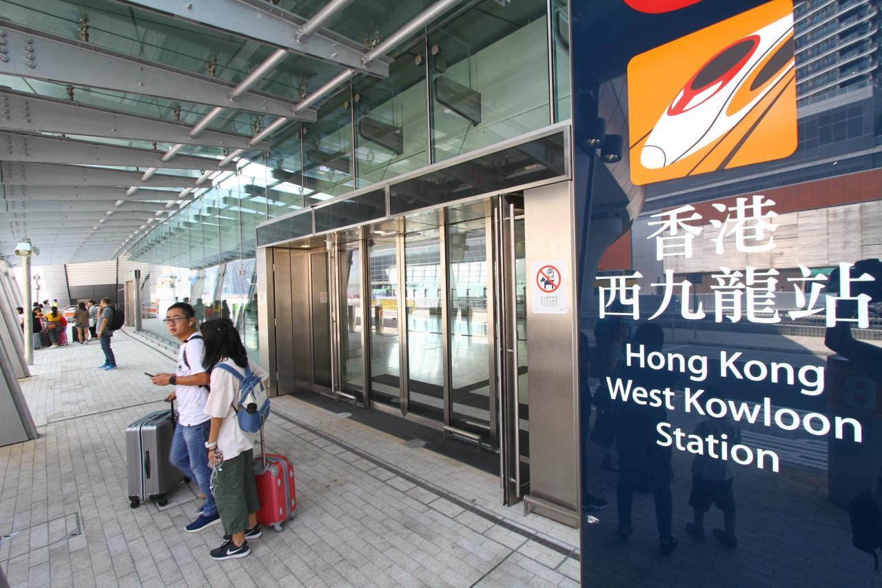 港深廣高鐵通車,使高鐵沿城市民眾赴港意願也大大提高。