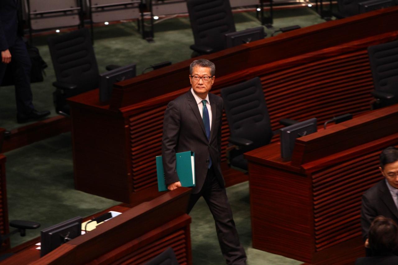 陳茂波指,粵港澳大灣區建設和「一帶一路」倡議將助力香港成為全球綠色金融中心。