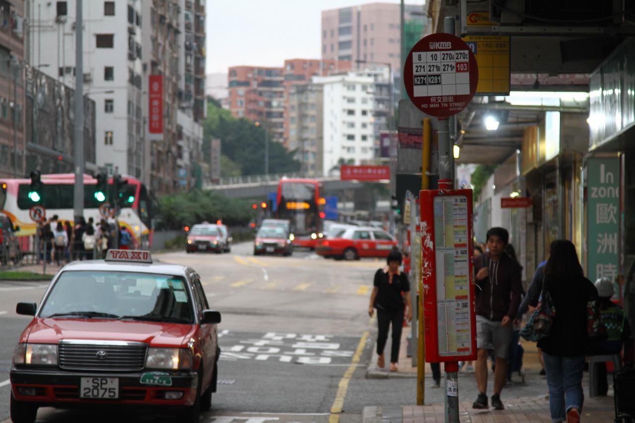 樓盤附近交通方便,有不少巴士及小巴線。