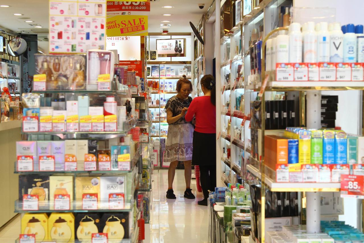 零售業在近月的收入受到極大打擊。