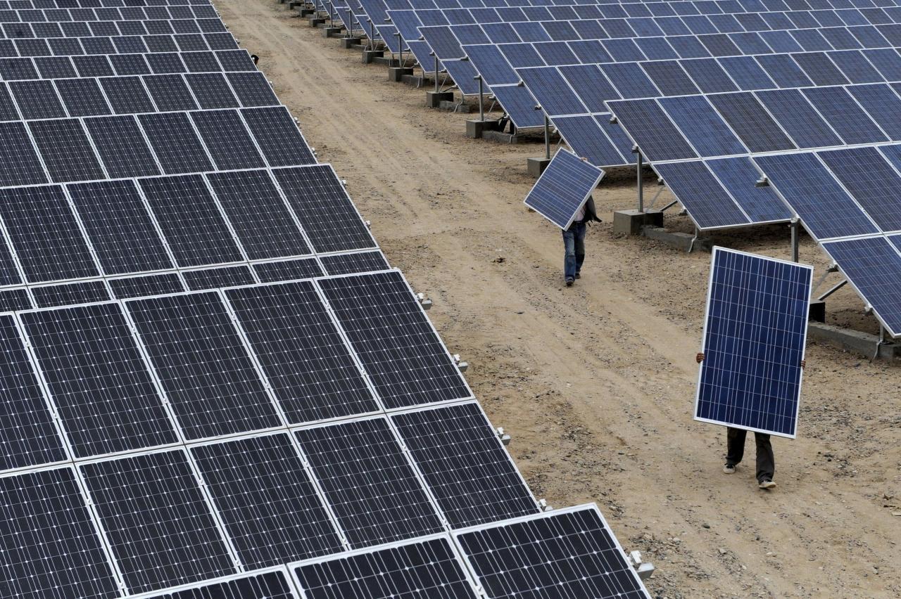 廣泛使用環保能源可減少污染物。