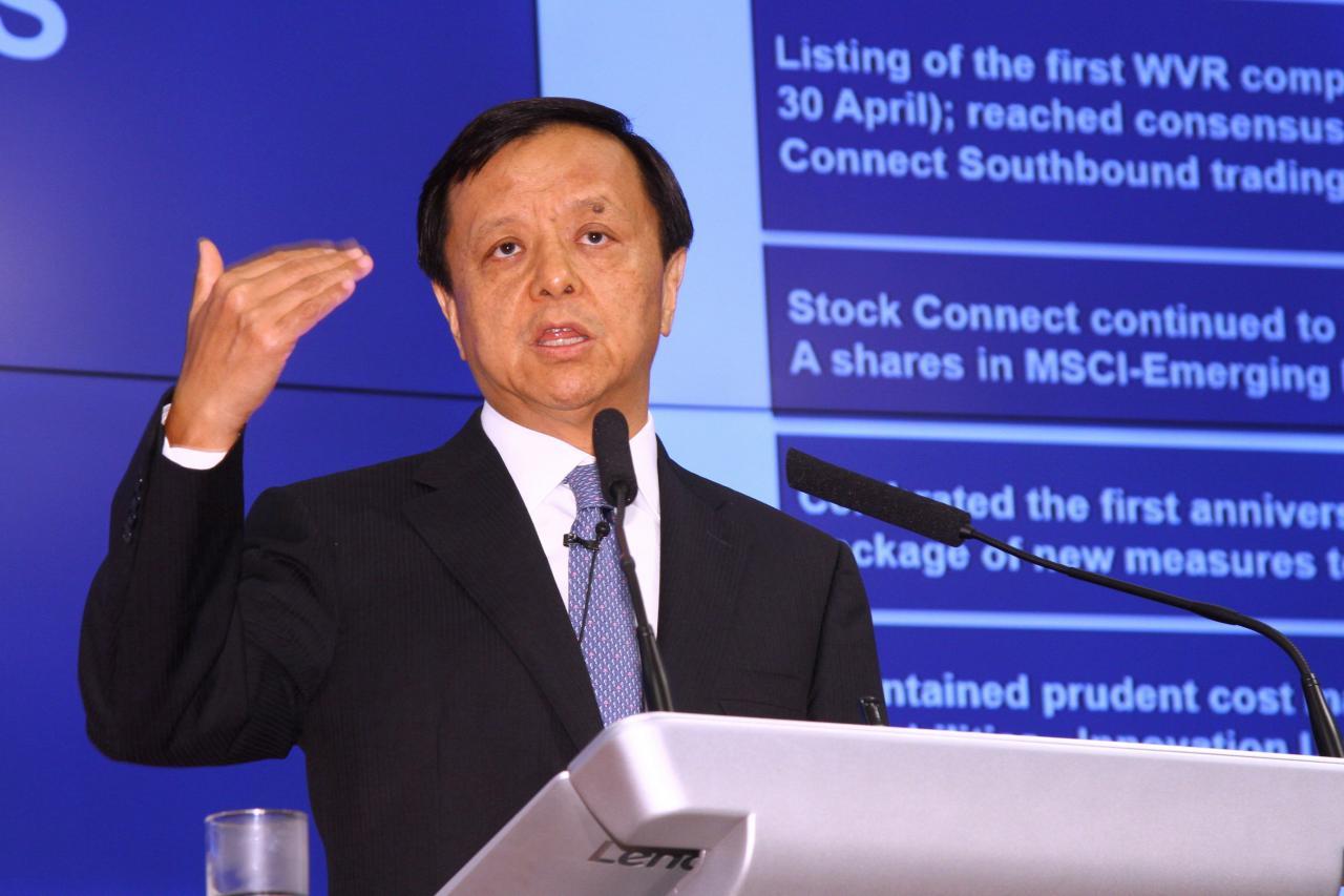 港交所行政總裁李小加似乎只關心IPO數量,而不太關注質量。
