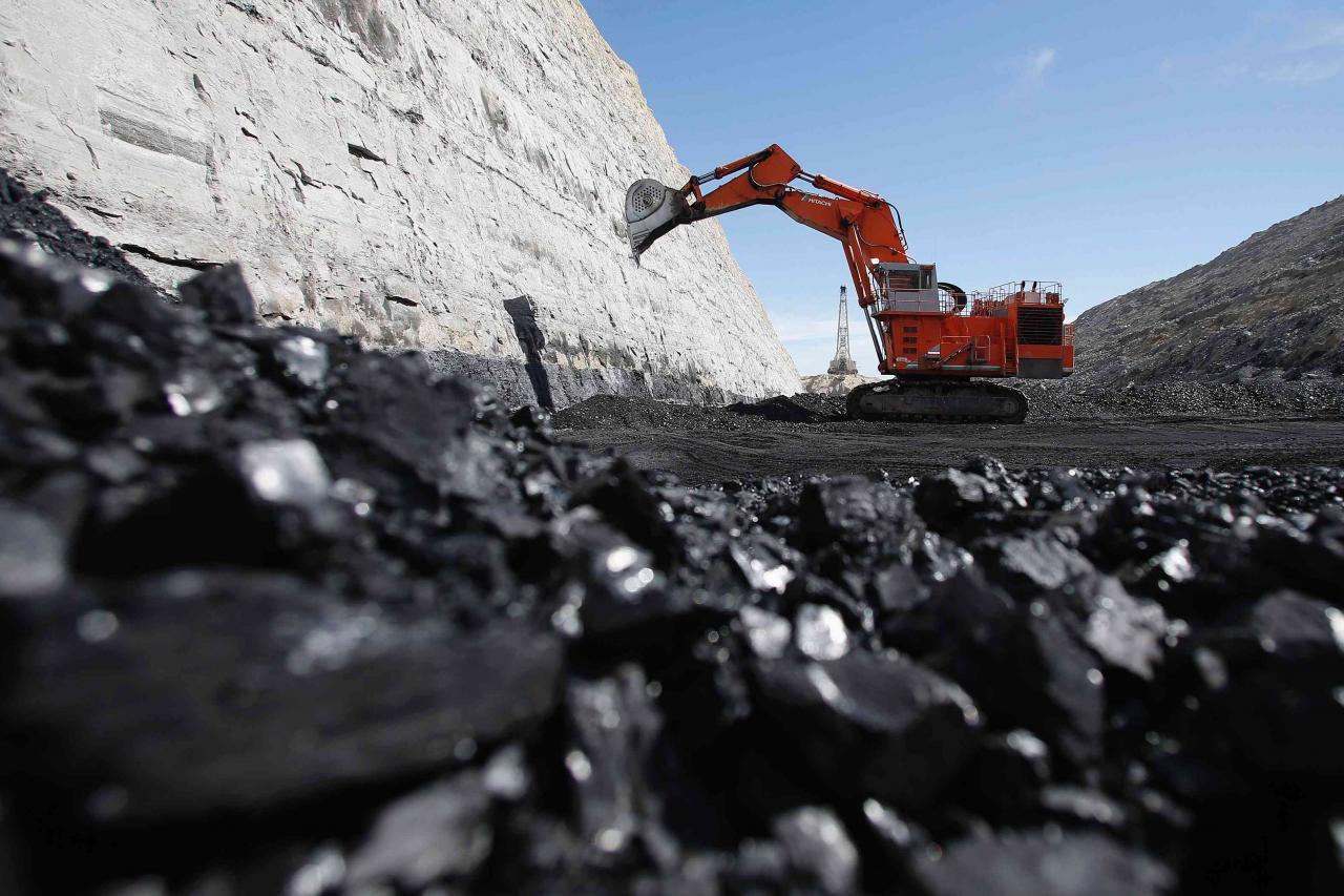 集團的高質量、高熱值的動力煤銷往產品質量可反映煤炭價值的高端市場。