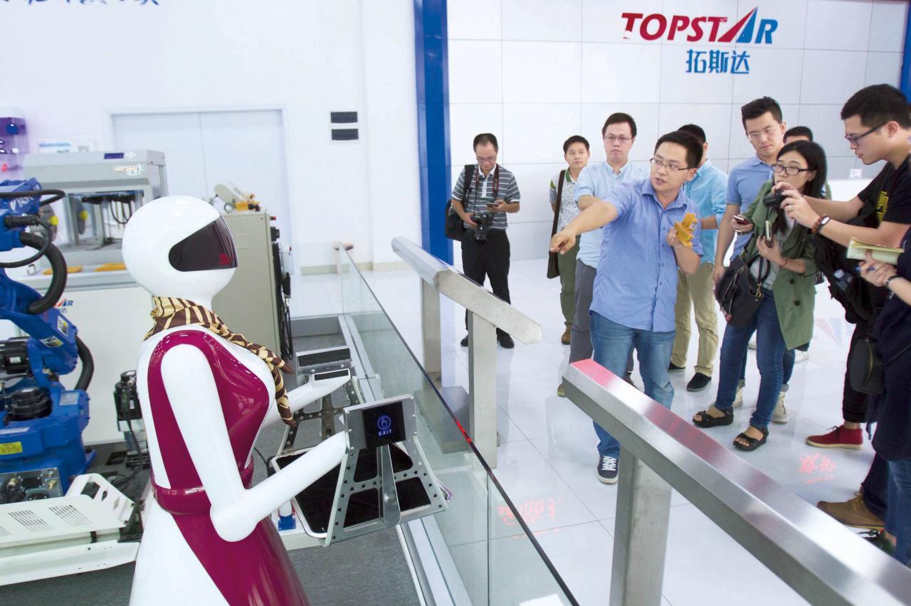 東莞產業不斷升級,機器人是升級關鍵之一。