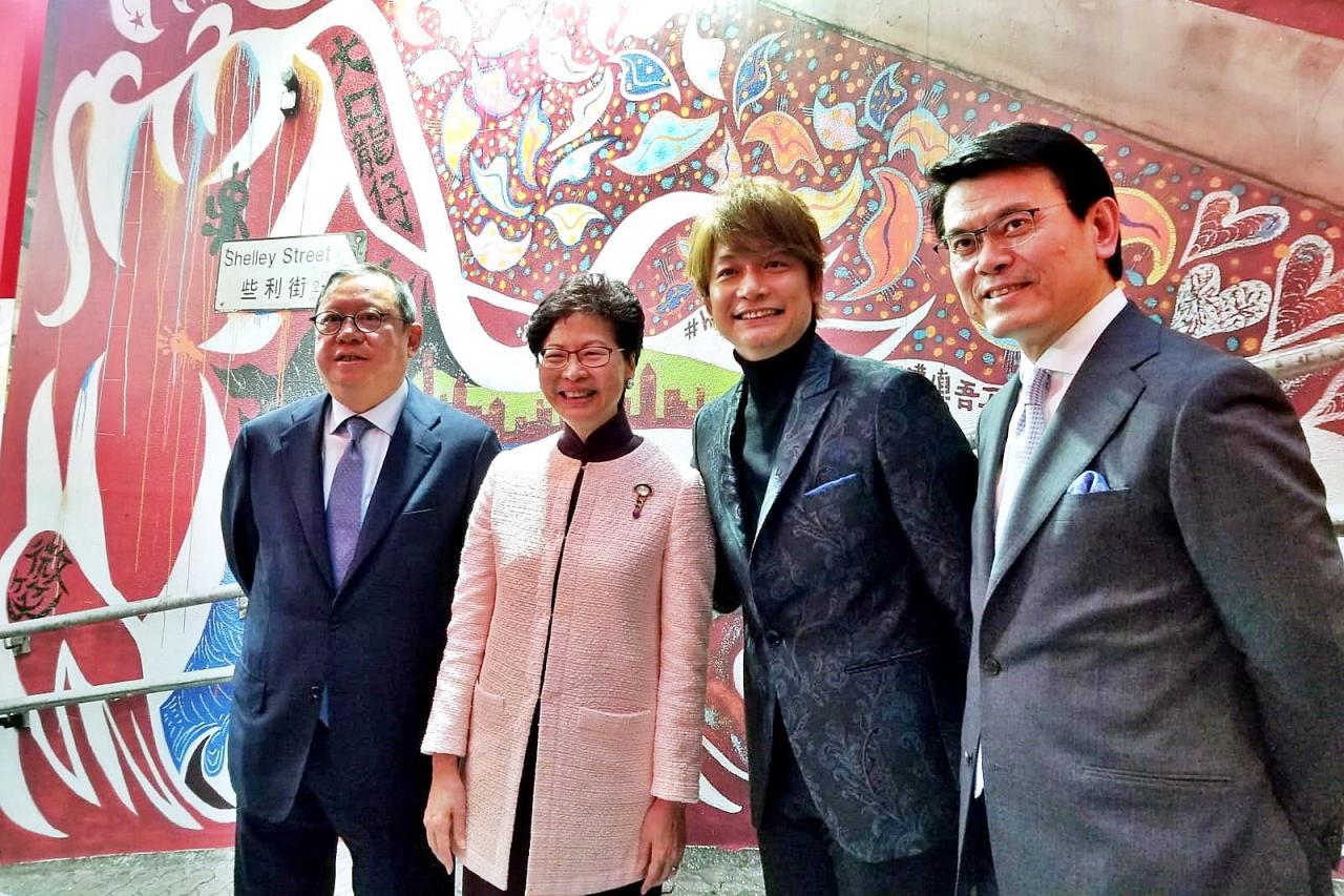 香港旅遊發展和澳門及廣東當局,共同在日本開拓旅遊市場。
