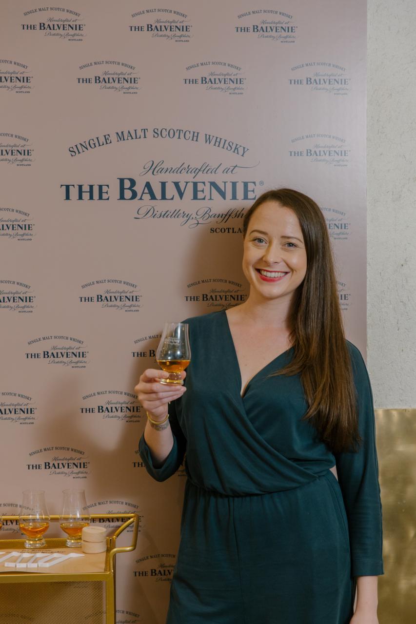 The Balvenie全球品牌大使Gemma Paterson