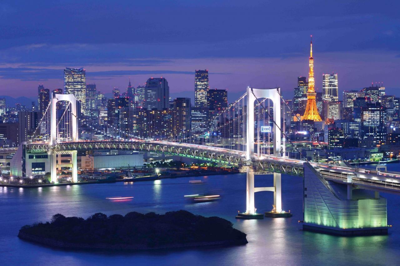 東京灣區最特別地方是首都所在地。