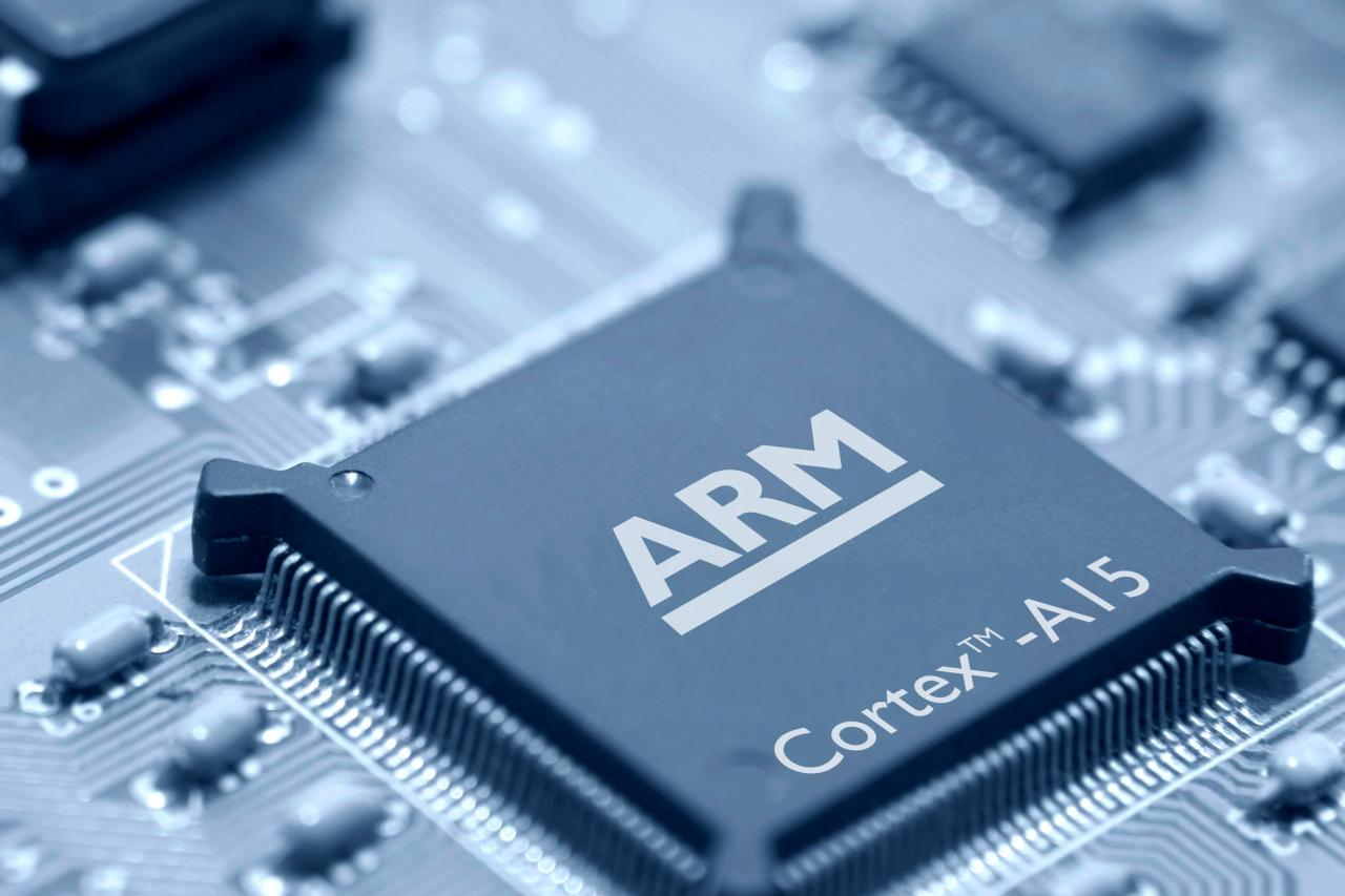 ARM早前宣布終止與華為的合作。