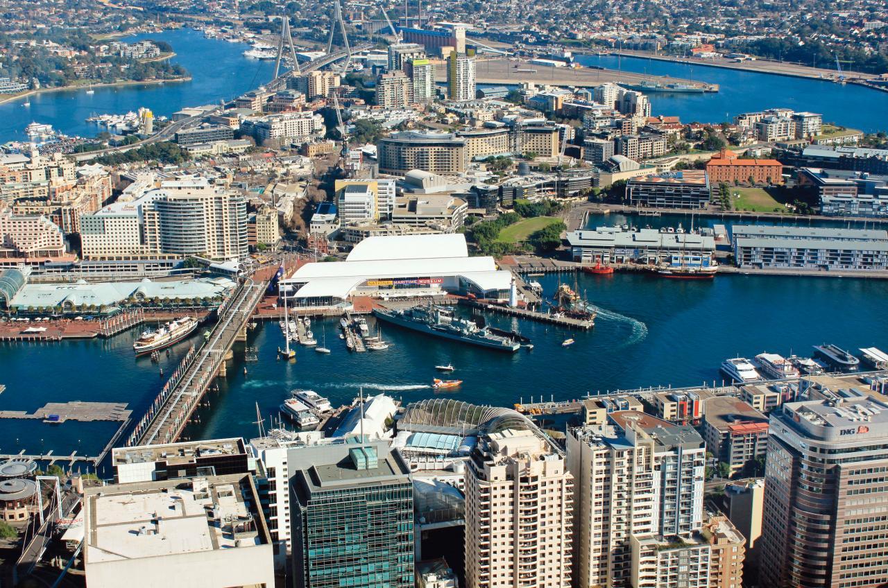 Darling Point是悉尼最貴的地段。