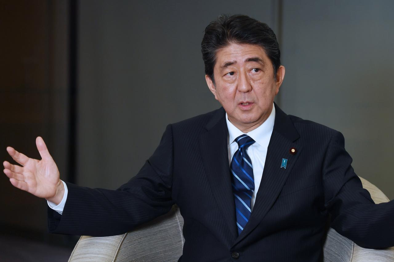 日本首相安倍晉三希望日本能夠帶領全球一起減少海洋塑料垃圾。