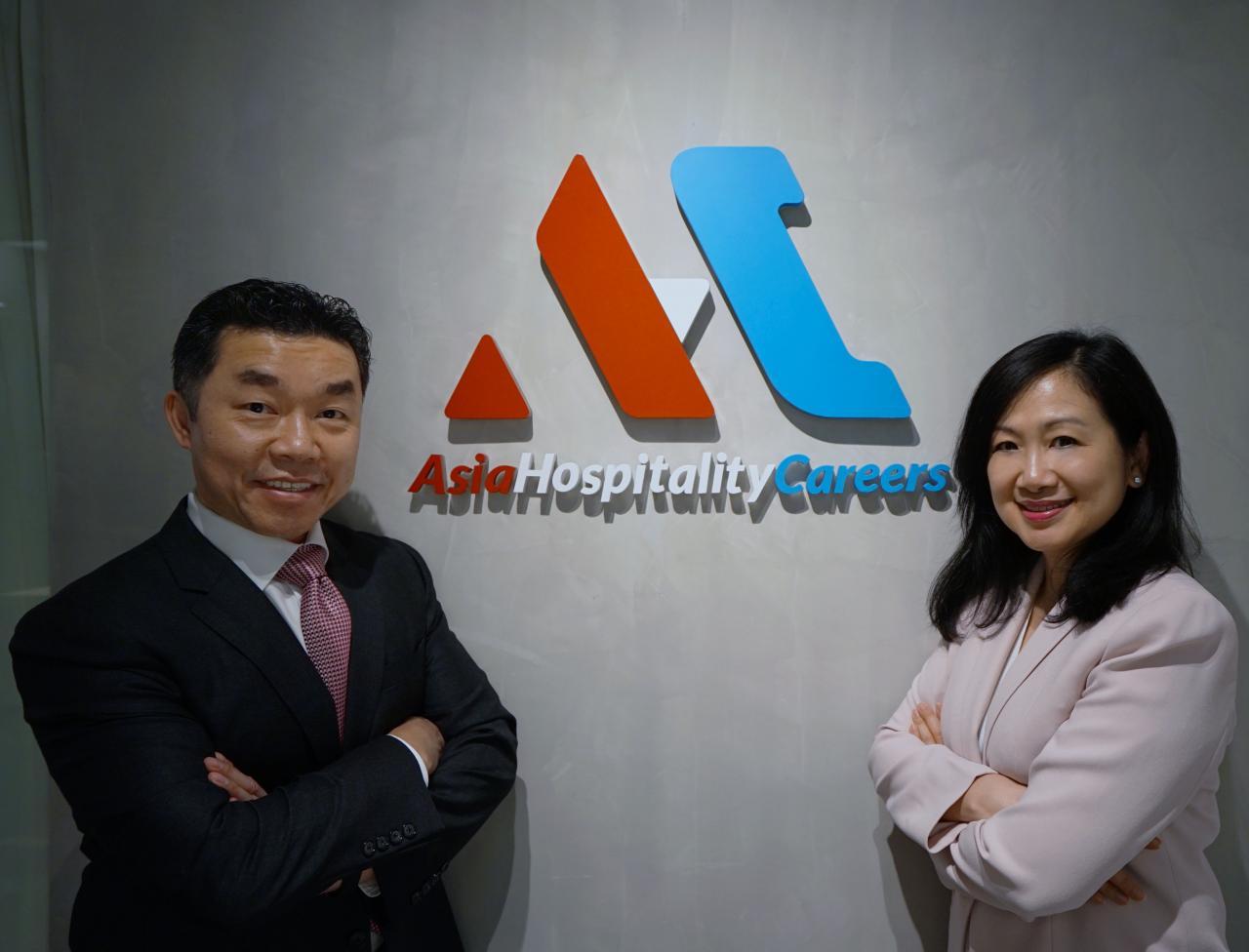 AsiaHospitalityCareers.com兩位創辦人Danny Li及May Chan