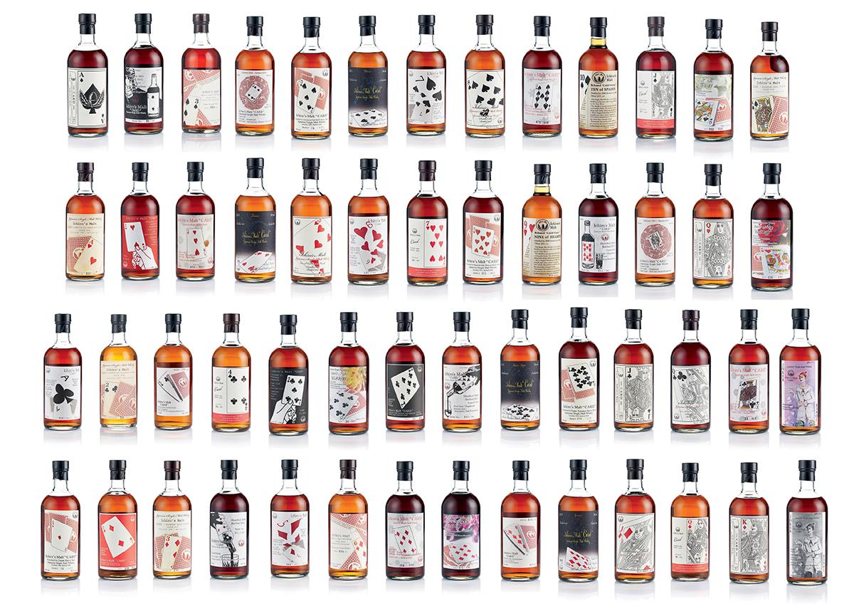 在8月中邦瀚斯舉行的「稀有葡萄酒及威士忌」拍賣會中,將拍賣「羽生伊知郎全副撲克牌系列」(估價:450萬至600萬港元),其酒標分別代表一套完整撲克牌中的每一張牌,瓶中佳釀由知名停產酒廠「羽生蒸餾所」的單桶極品威士忌裝瓶,是次拍賣有望刷新紀錄。