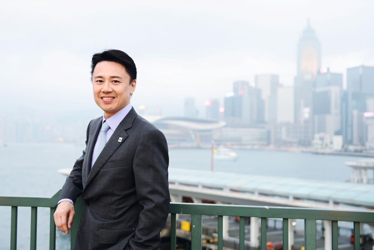 世界自然基金會香港分會董事委會主席何聞達認為,近年各界對「地球一小時」的認知及參與度均日益上升。(©Yvonne Chan / WWF-Hong Kong)