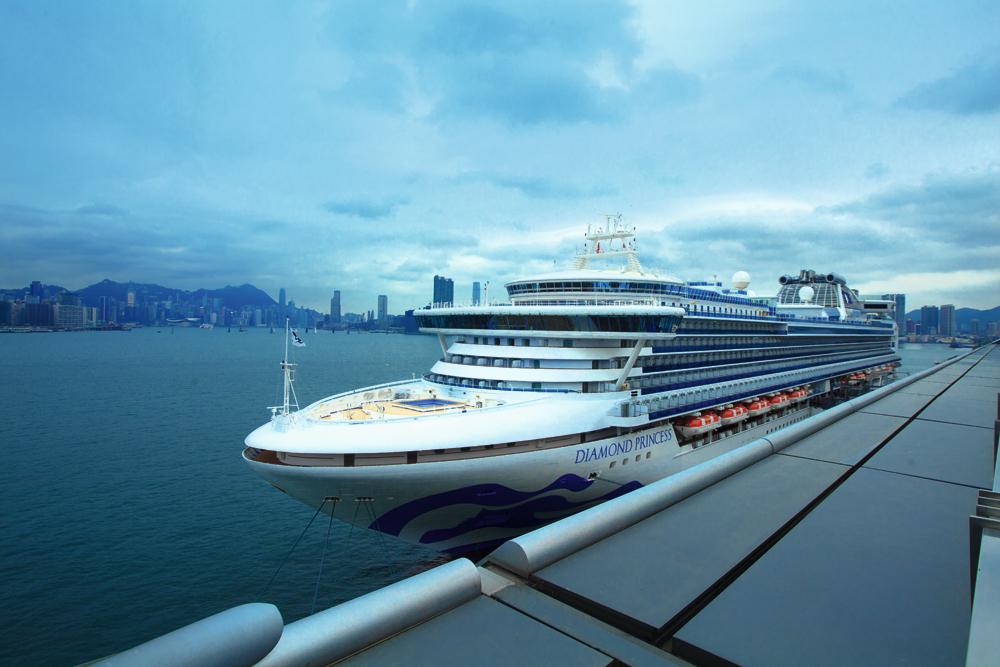 楊梓呈表示,郵輪內乘客員工作人員的比例,約為三比一,如相中的郵輪可載3,000名乘客,亦即有大約1,000名船上工作人員。