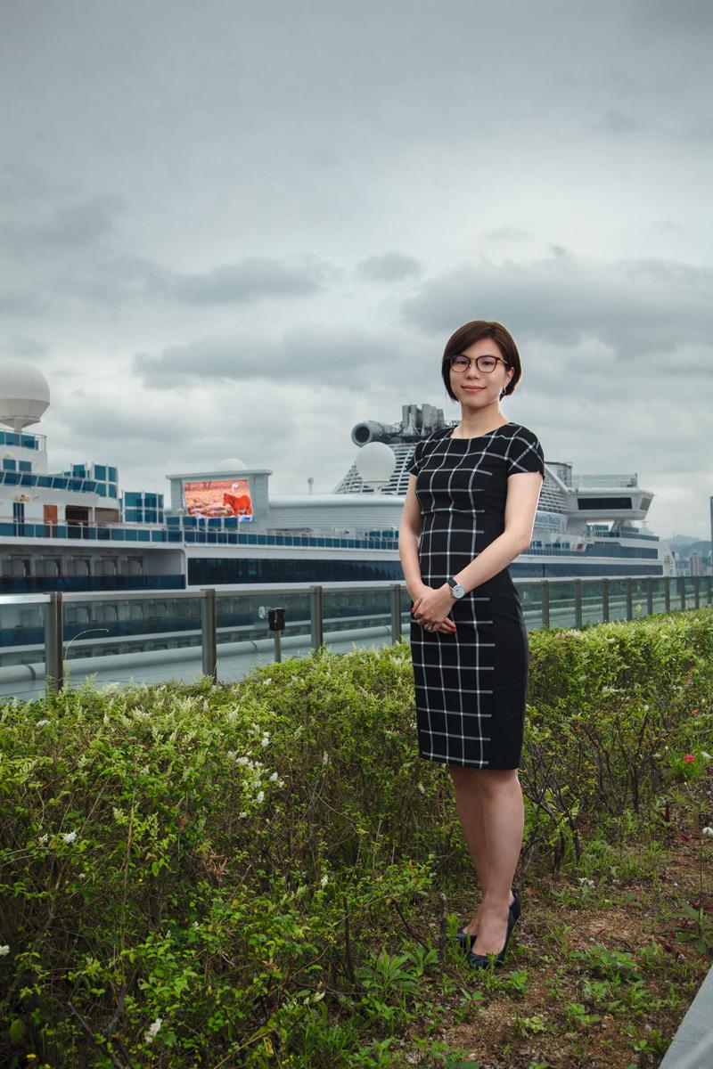 「香港郵輪及遊艇業協會」總理事楊梓呈。