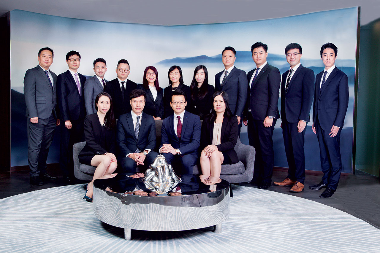 財富管理總監陳偉樑(William)在短短數年間,成功建立個人團隊。