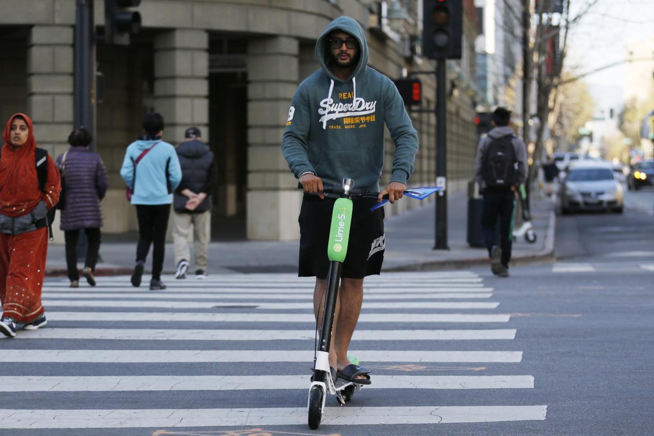 美國的共享交通工具已伸延至滑板。