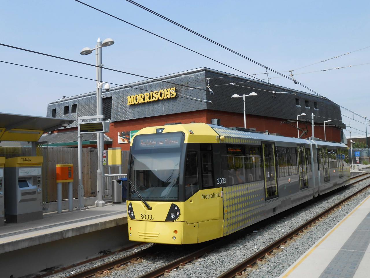 曼城未來數年將提升市內鐵路系統。