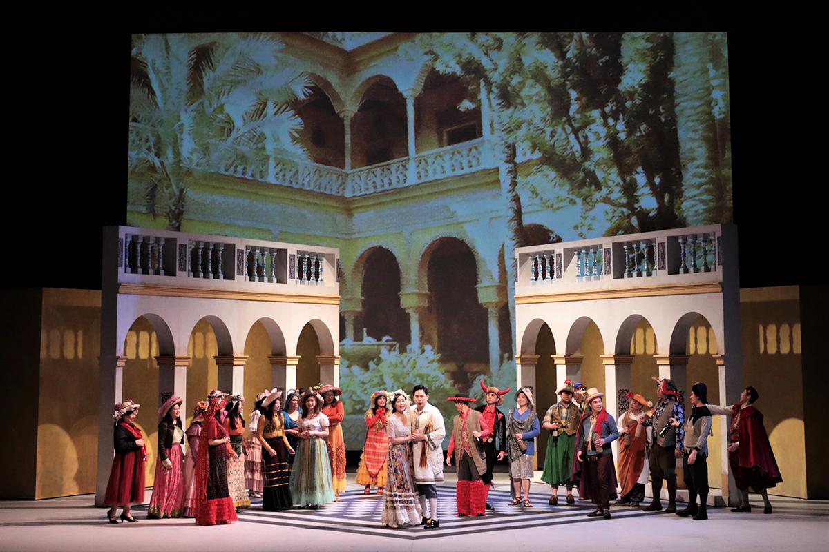 5月下旬的《唐.喬望尼》(Don Giovanni)歌劇表演,銷情理想。