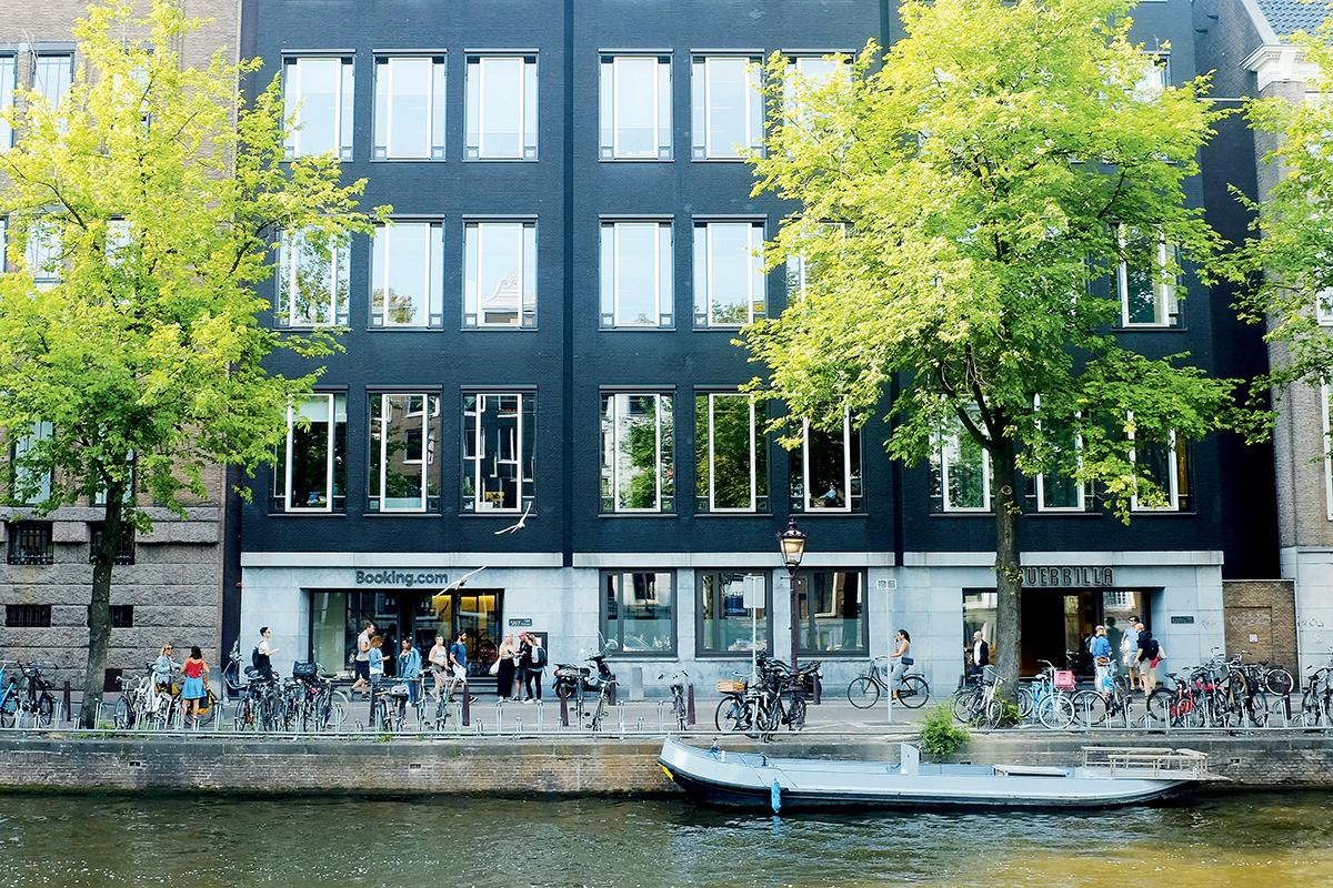 Booking.com的總部位於荷蘭,但總部座落之處卻是個並不起眼的地方。