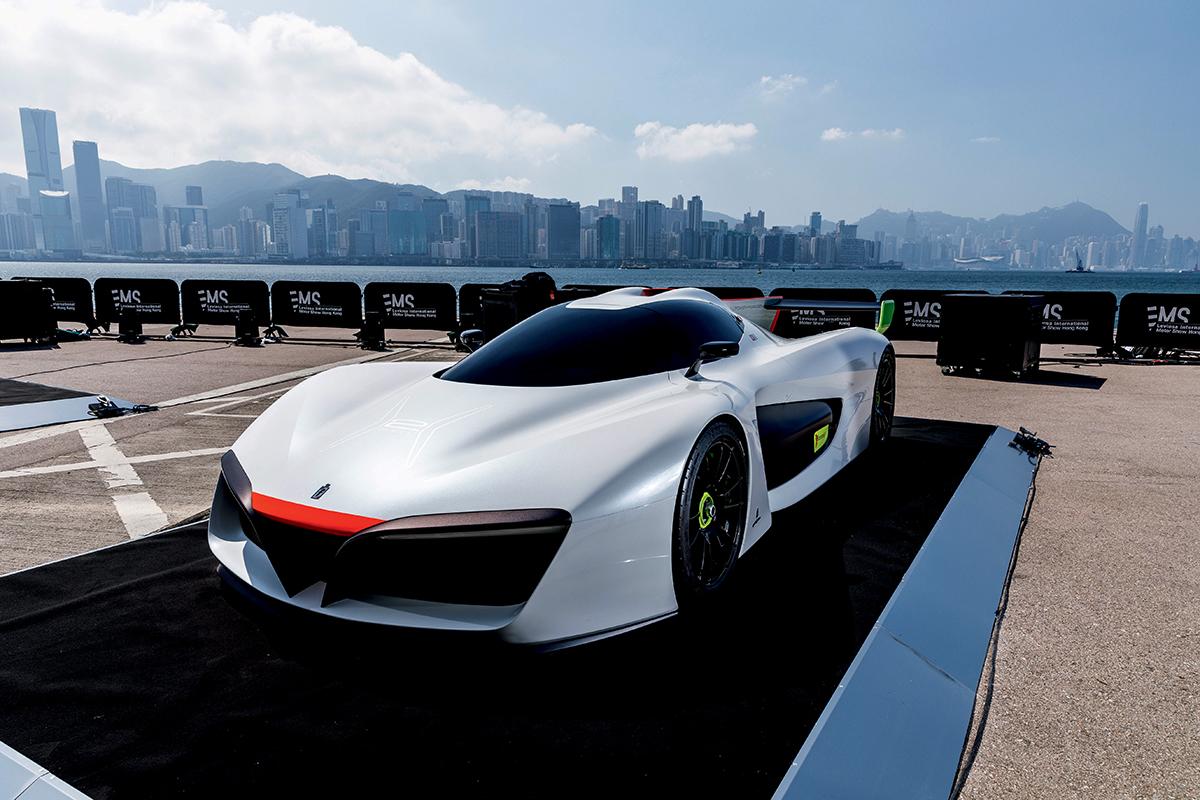 發布會中展示了三款從未於香港展出的樣版車,其中一款為Pininfarina H2 Speed。