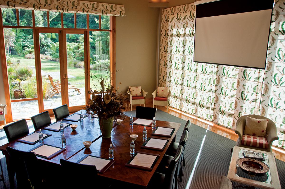 用作開會的會議室。