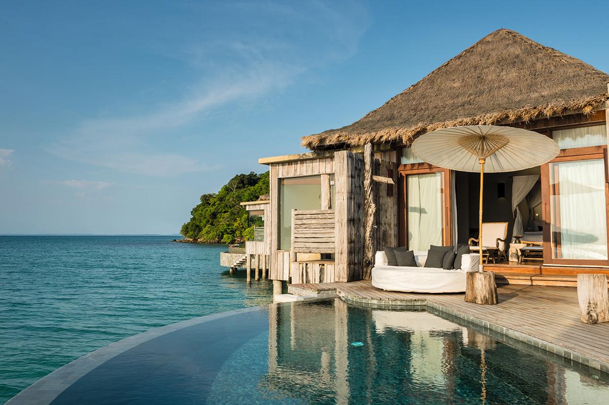 Song Saa度假村,是柬埔寨第一間在私人島嶼開設的奢華酒店。
