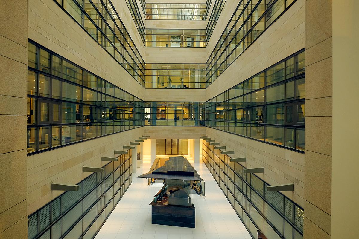 部部分內貌,在建築設計上相當富有現代特色