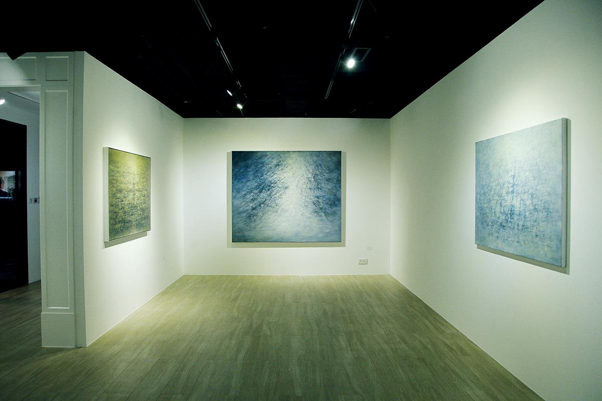 中國當代水墨藝術家劉國夫的作品展覽,為倫敦的收藏界帶來很大的衝擊。