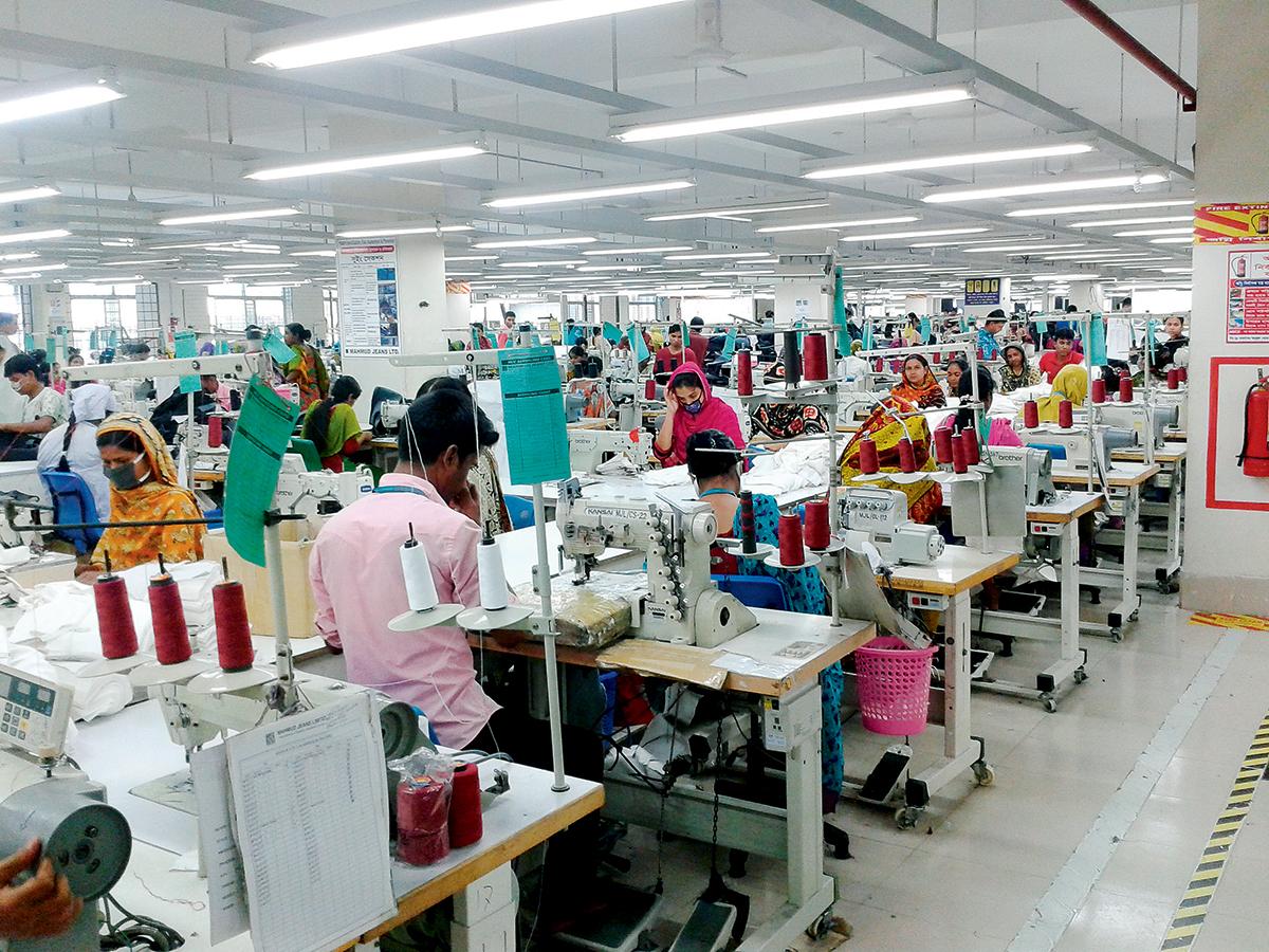 孟加拉成衣及紡織業發展篷勃。