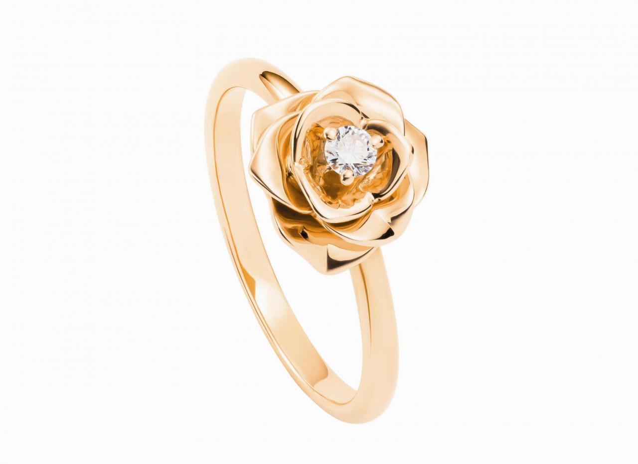 Piaget玫瑰指環