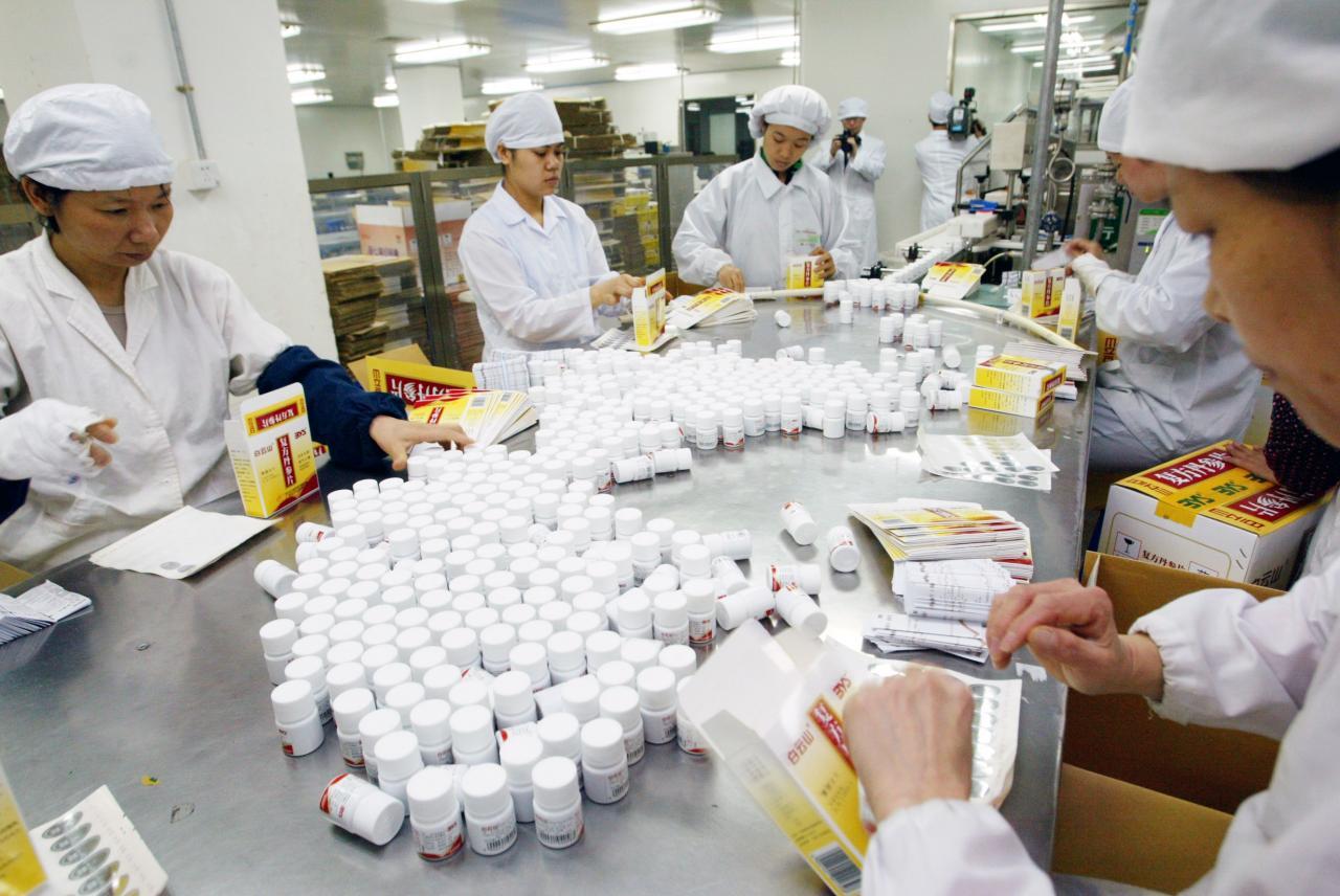 藥企積極研發新藥以維持公司增長動力。