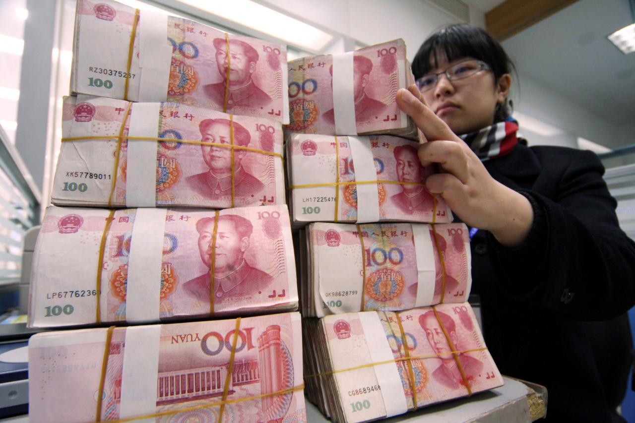 人民幣貶值是拖累內銀股下跌的一大元凶。