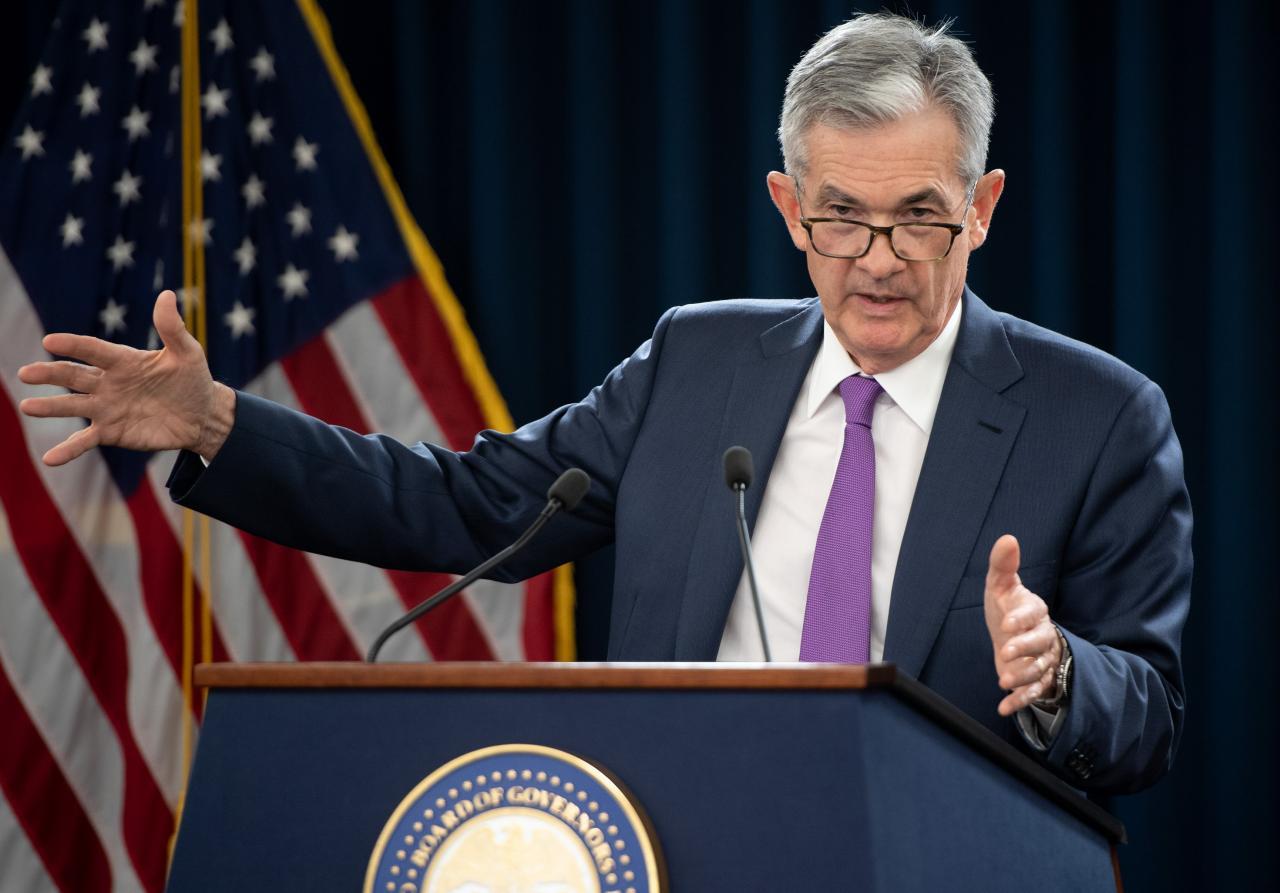 市場關注聯儲局主席鮑威爾議息會議後的聲明。