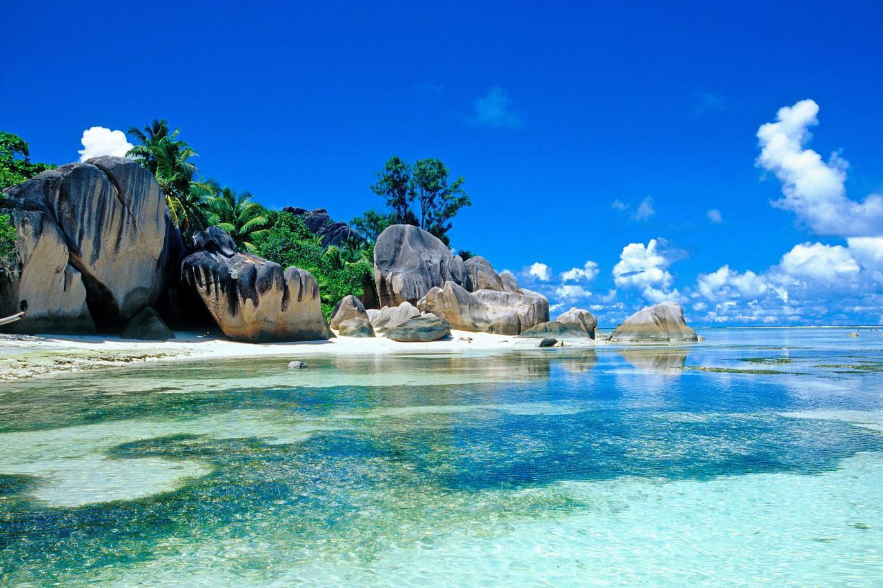 塞舌爾的旅遊收入佔其國內生產總值的比重達到百分之六十二。
