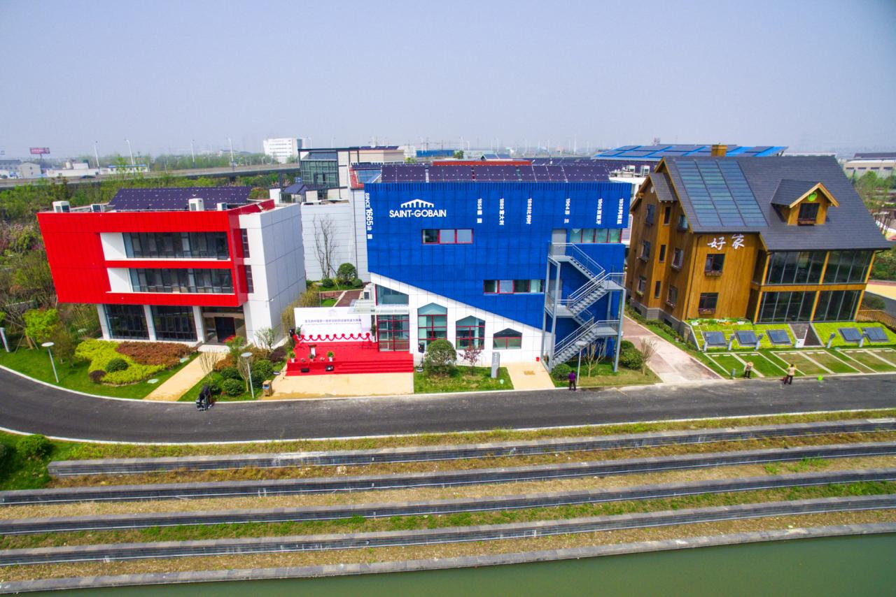 早在二○一五年,綠色建築就在江蘇展開。