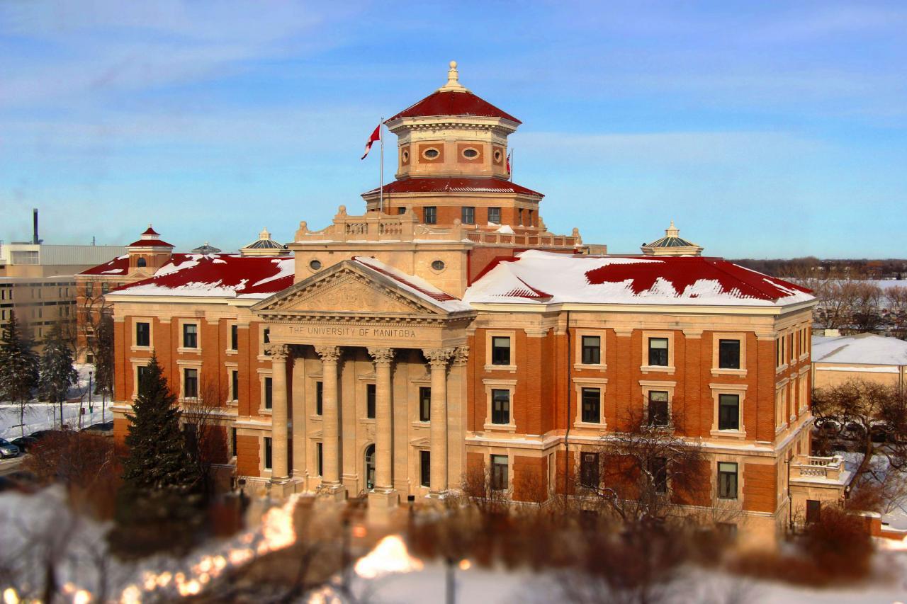 曼尼托巴大學是加拿大西部的第一所大學,學習氛圍濃厚。