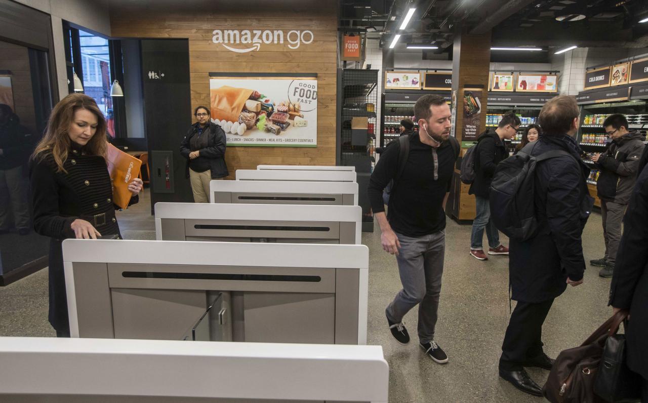 亞馬遜在今年一月正式推出首間無人超市Amazon Go。