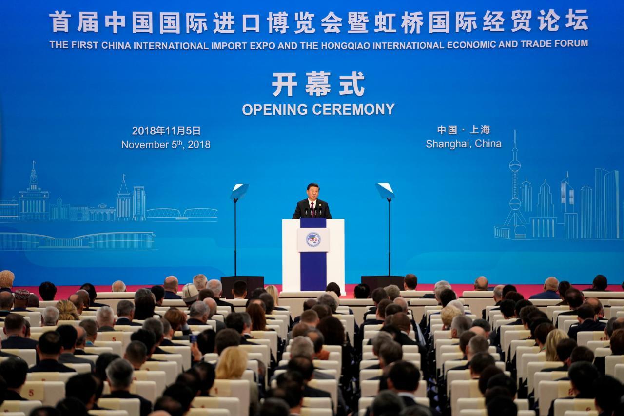 習近平一口氣宣布三項擴大開放上海的新措施。