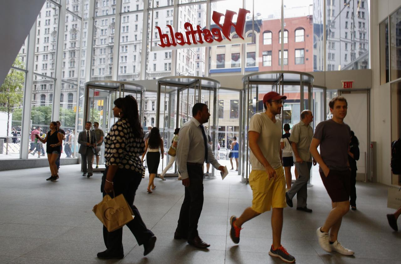 重建後的曼克頓區,已變成商住區,更有不少大型商場進駐。