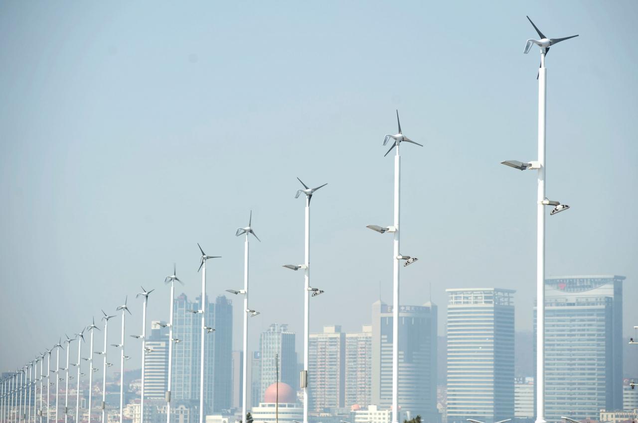 國家一直致力推動新能源的發展,以減少對環境造成傷害。
