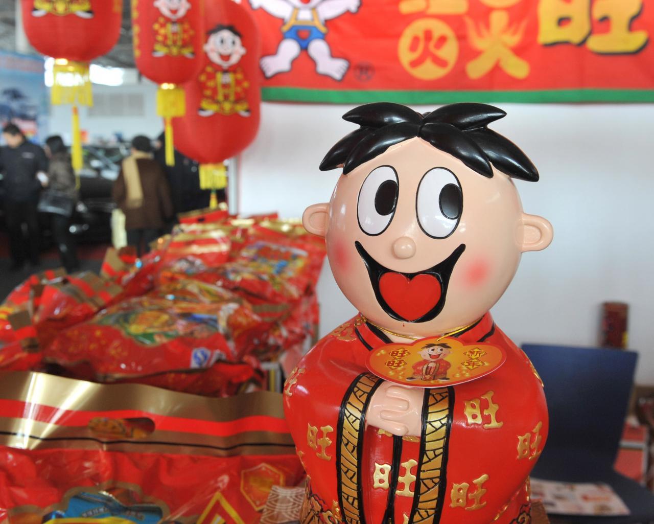 每逢過年,中國人必定會買一些好意頭的食品作送禮之用,推升銷售。