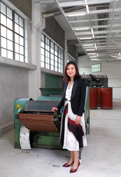 張晶晶:六廠紡織文化藝術館聯席總監
