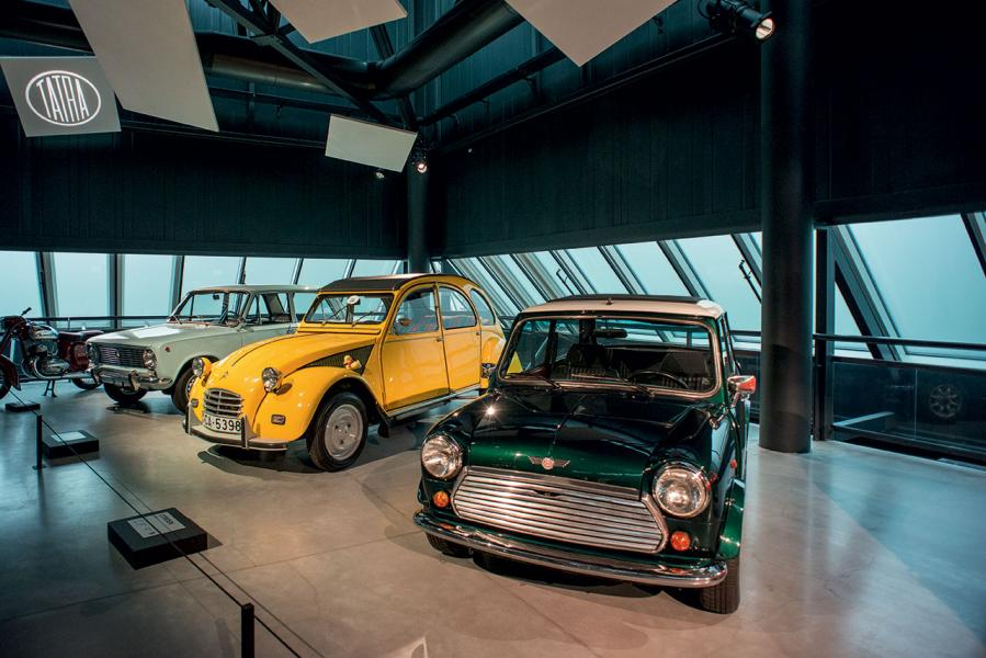 一些大家熟悉的車種,亦能在汽車博物館找得到。