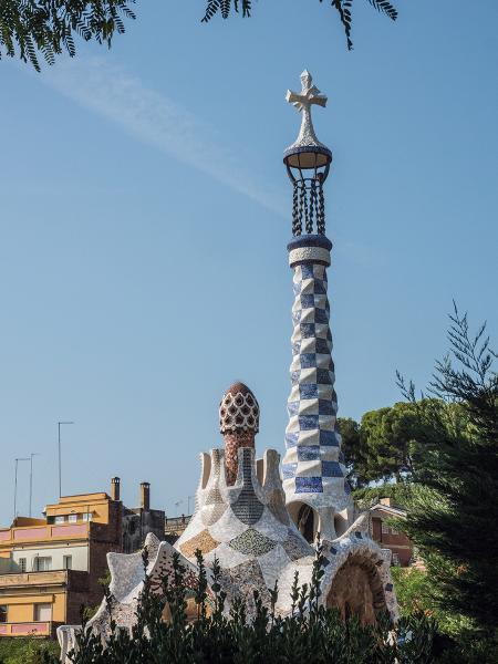 高第的建築在巴塞羅那經常可見。