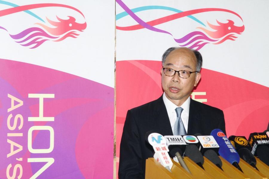 運輸及房屋局局長陳帆解釋推出「空置稅」並非針對發展商,只是希望在房屋短缺時建立平衡點。